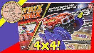 Trix Trux Track Set - Monster Trucks That Flip!