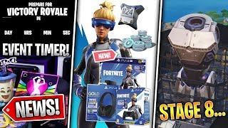 Neo Versa Bundle Leaked, Robot Body Built, Event Countdown, Fixes & Leaks! - Fortnite News