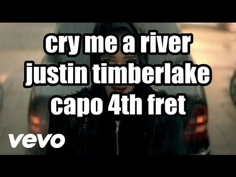 cry me a river justin timberlake lyrics and chords