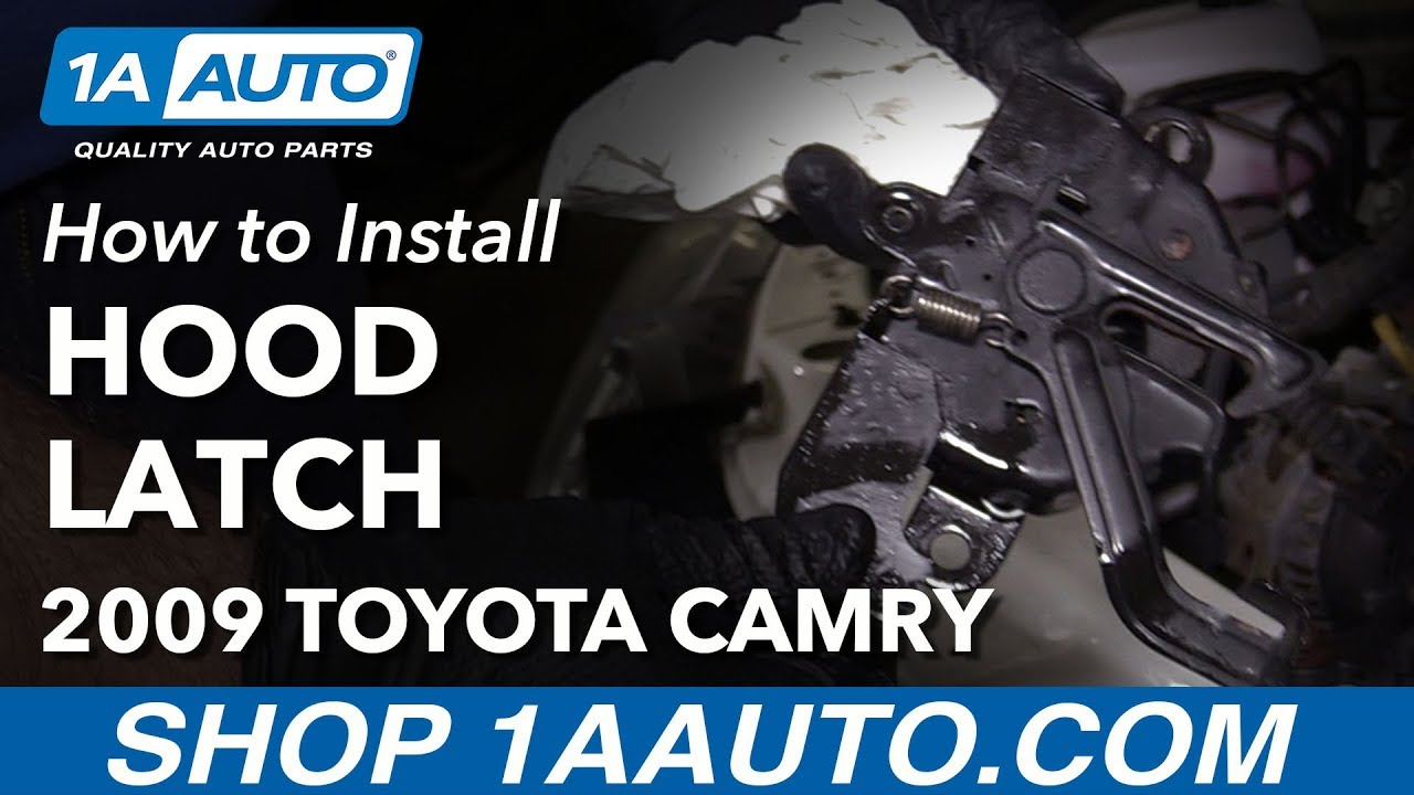 How to Replace Hood Latch 06-11 Toyota Camry