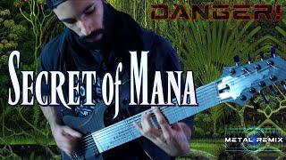 Secret of Mana - Danger (Boss Battle)   METAL REMIX