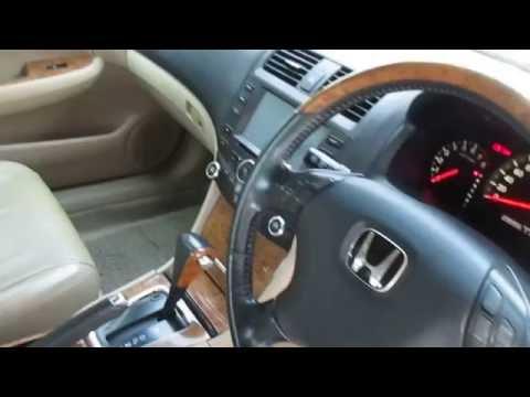 รถเก๋ง มือสอง รถราคาถูก ยี่ห้อ Honda (ฮอนด้า แอ๊คคอร์ด) รุ่น Accord สีดำ ปี 2004 #UC33