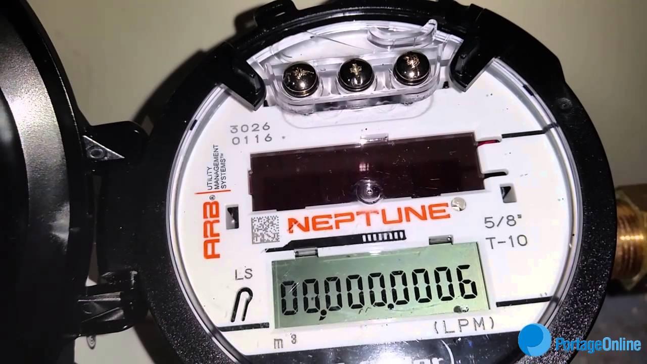 New Water Meters Installed In Portage la Prairie on