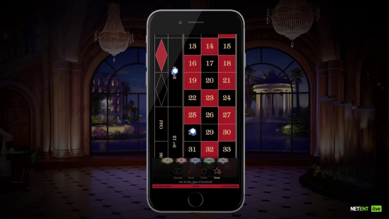 Mobile Vip Roulette Netent Live Casino Youtube