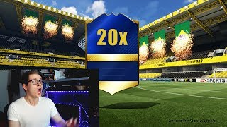 FIFA 17: OMG 20x BEAST TOTS IN A PACK OPENING!😱⛔️🔥 ULTIMATE TEAM - WALKOUTS!