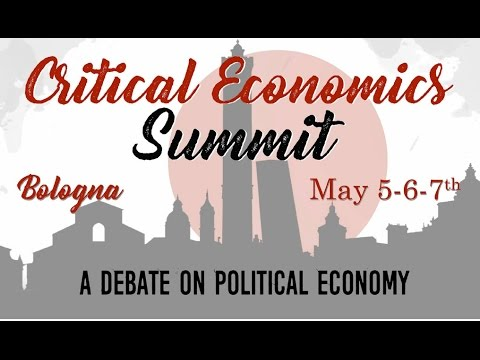 Talk at Rethinking Economics Bologna on post-Neoclassical Economics Teaching & Research