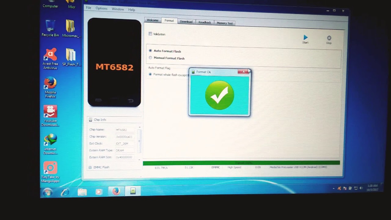 micromax Q372 hang logo & dead after flash solution