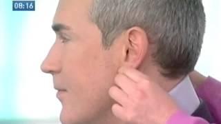 Массаж ушей ушных раковин активные точки на ушах  проекции органов