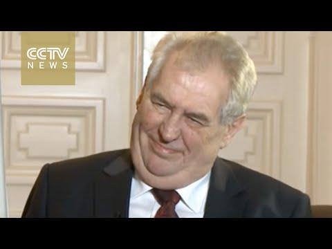 Interview with Czech President Milos Zeman on Sino-Czech ties