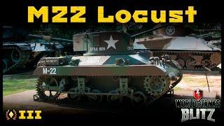 Обзор M22 Locust - Халявная малютка [WoT: Blitz]
