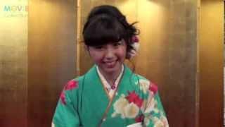 【ゆるコレ】小池里奈から新年のあいさつ 小池里奈 動画 30