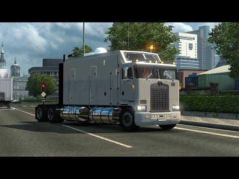 ETS2] Kenworth K100 Long Frame - YouTube