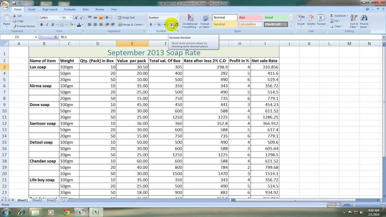 how to write an if formula in excel 2007