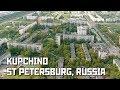 Kupchino. The Soviet District of St Petersburg, Russia
