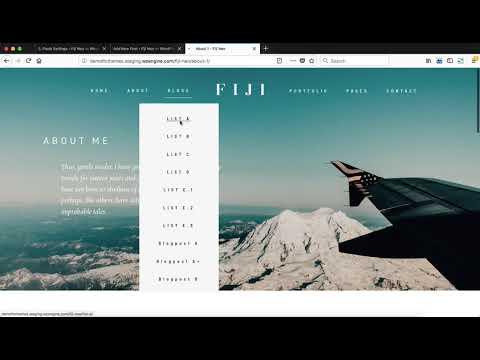 Flothemes :: Fiji 2 -  Blog Post Settings