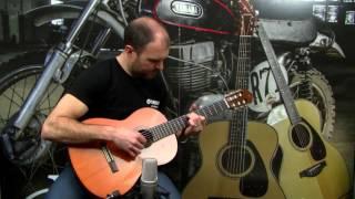 yamaha cs40 - classical guitar