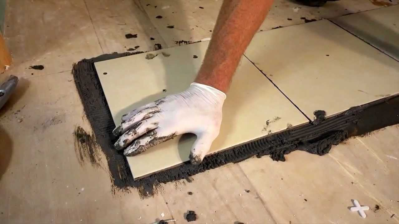 How to tile a floor by evo stik youtube how to tile a floor by evo stik dailygadgetfo Gallery