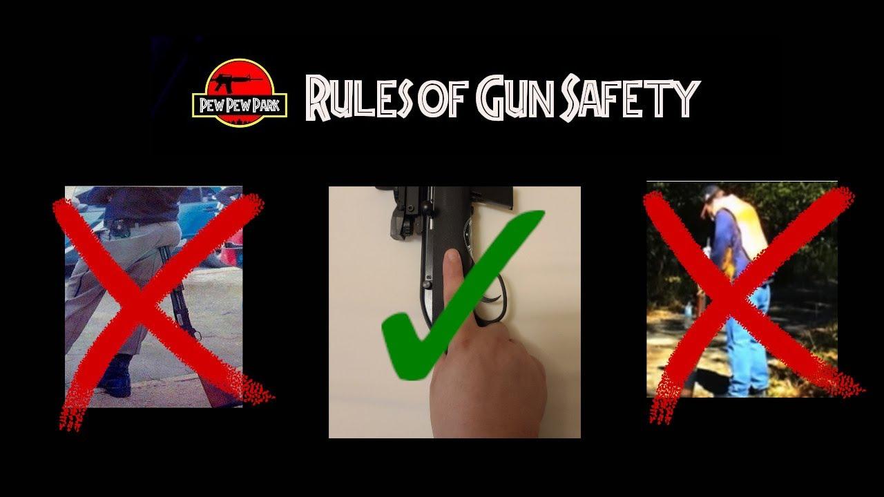 New Gun Owner Basics: The 4 Rules of Gun Safety(Plus 1 Bonus Rule)