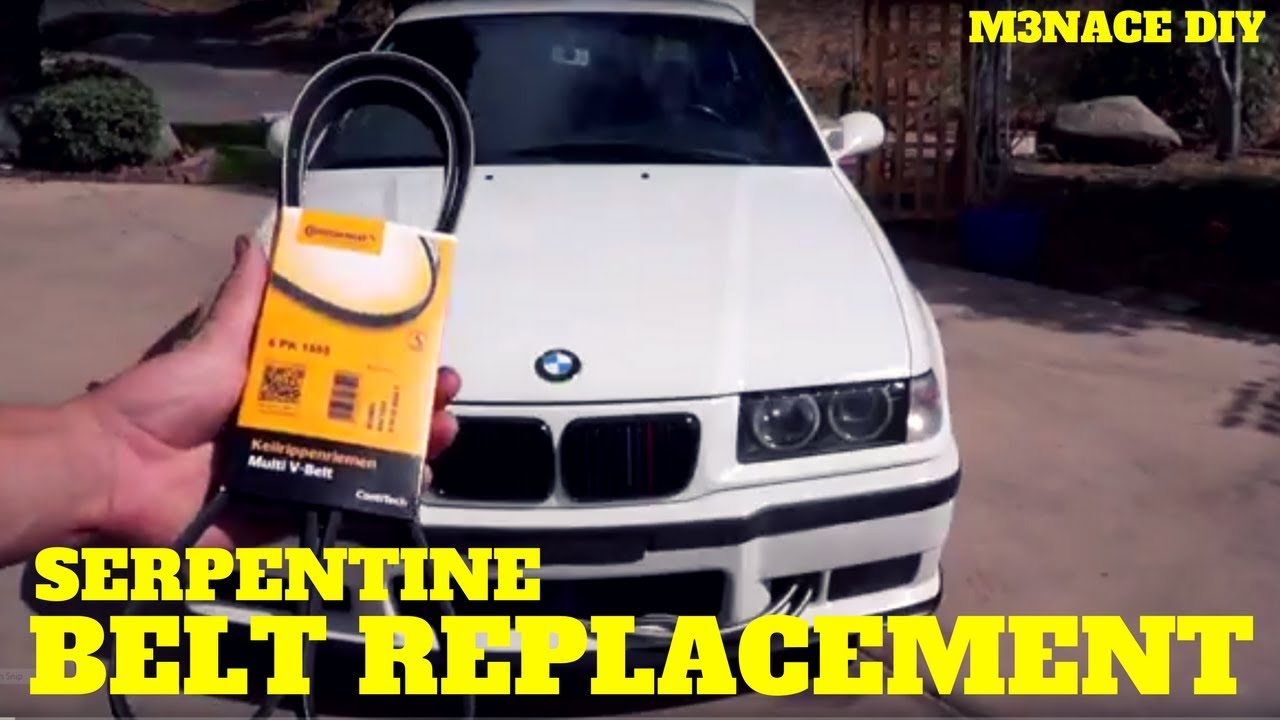 maxresdefault e36 belt replacement removal diy youtube