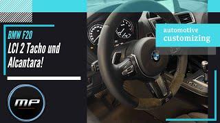 Marx Performance - BMW F20 LCI 2 Tacho, Alcantara und Nachrüstung der Schaltwippen - Retrofit