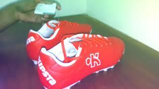 KIPSTA by Decathlon Football Shoe (red