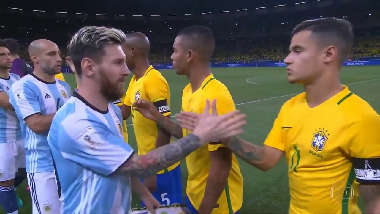 Argentina Vs Brasil: Brasil X Argentina Eliminatórias Da Copa 2018 Jogo