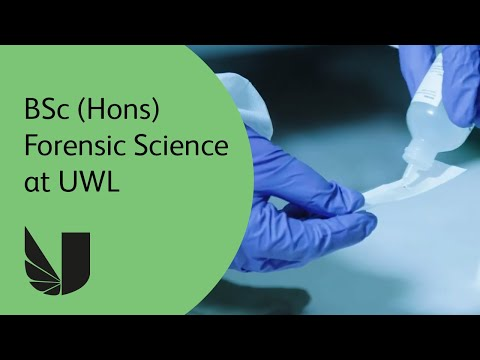 BSc (Hons) Forensic Science at the University of West London