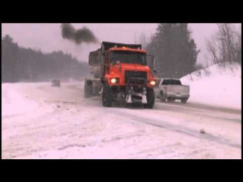 Big snow in Alger county