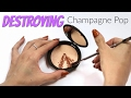 THE MAKEUP BREAKUP - Destroying, Weighing & Repressing Champagne Pop by Becca