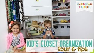 Three Steps To Organizing Your Kids' Closet