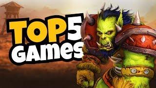 5 Best New Games!!!  August 2019