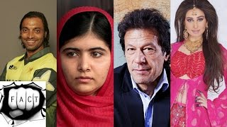 Top 10 Most Popular Pakistani People