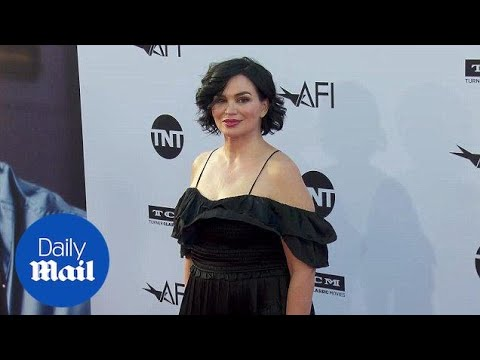 Karen Duffy is bold in black at George Clooney AFI event  Daily Mail