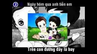 Hình bóng của mây - Remix Karaoke - Khánh Phương || Youtube HD
