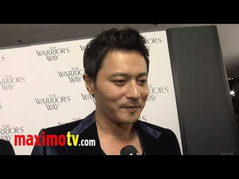 "JANG DONG GUN Interview (In Korean) at ""The Warrior's Way"" Los Angeles Screening"