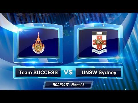 2017 RoboCup Asia-Pacific - Round 2 - Team SUCCESS Vs UNSW Sydney