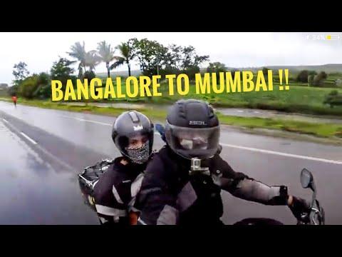 BANGALORE TO MUMBAI | AS A PILLION