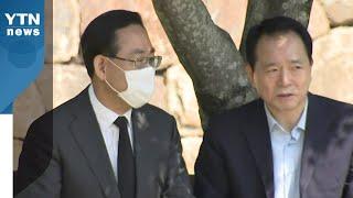 """국회 원 구성 협상 제자리...주호영 """"변한 것 없다""""…"""