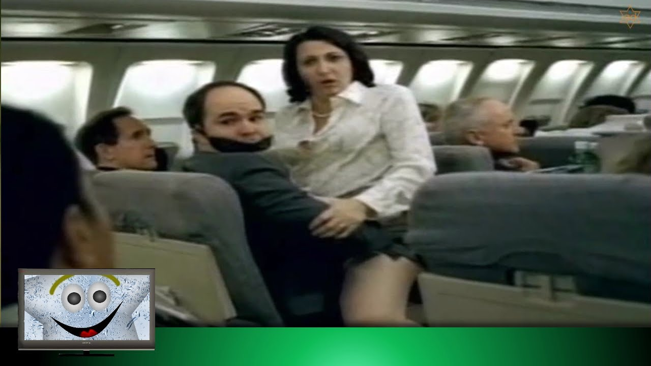 Sleeping Man - Funny Airplane Fail - YouTube