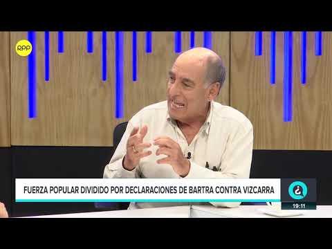 """Carlos Tapia: """"Los fujimoristas se han contagiado de los apristas""""   QTLR"""