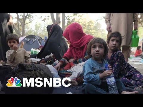 Women, Children Seek Refuge in Kabul as Taliban Sets Sight On Capital