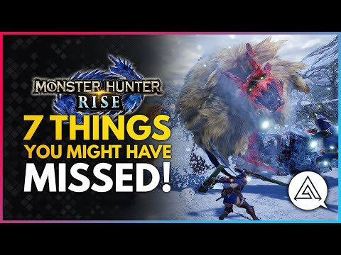Monster Hunter Rise | 7 Things You Might Have Missed - Bloat Values, Armor Options & More! |