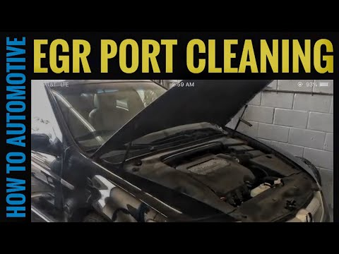 How to Clean Out the EGR Port on a 2004-2008 Acura TL (Code P0401)