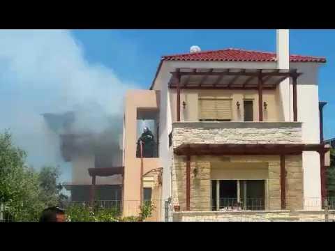 Πυρκαγιά σε σπίτι στα Χανιά