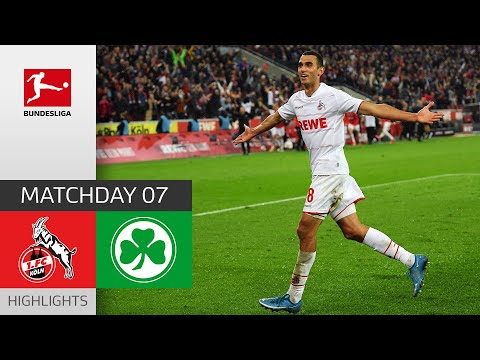 Köln Greuther Furth Goals And Highlights