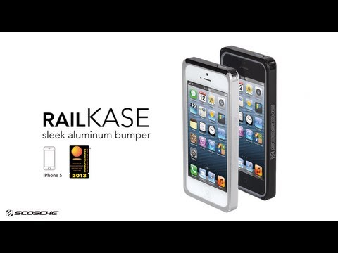 RAILKASE - Aluminum Case for iPhone 5 - Scosche