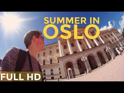 Oslo, Norway in the summertime! [Full HD]