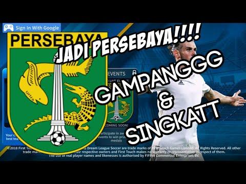 Tutorial Ubah Logo+Kit DLS menjadi PERSEBAYA!!! - Dream League Soccer.