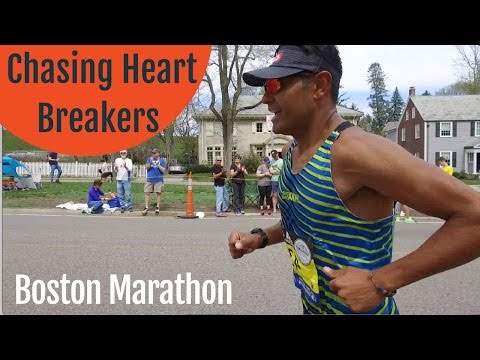 Chasing After Heart Breakers Mile 21 of the Boston Marathon