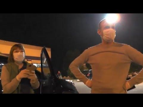 СтопХам- Рейд активистов совместно с ГИБДД на парковке для инвалидов у гипермаркета «Лента»